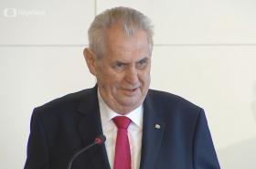 Prezident Miloš Zeman na sjezdu KSČM
