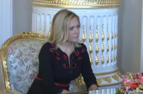 Slovenská ministryně vnitra Denisa Saková