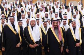Saúdská Poradní rada (Madžlis aš-Šúrá) v lednu 2015