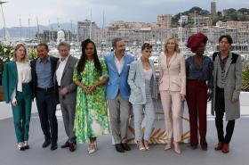 Hlavní porota festivalu v Cannes v roce 2018