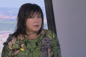Ministryně financí v demisi Alena Schillerová (nestr. za ANO)