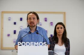 Pablo Iglesias se svou partnerkou