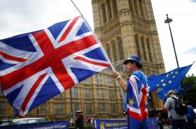 Protest proti brexitu