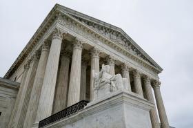 Budova nejvyššího soudu USA