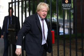 Bývalý ministr zahraničí Boris Johnson