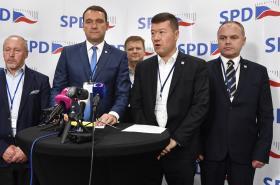 Nově zvolené předsednictvo SPD