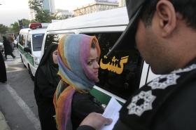 Zásah teheránské morální policie v červnu 2008
