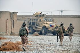 Česká hlídka v Afghánistánu