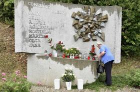 Pomník obětí železničního neštěstí