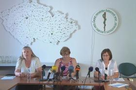 Brífink Odborového svazu zdravotnictví a sociální péče ČR