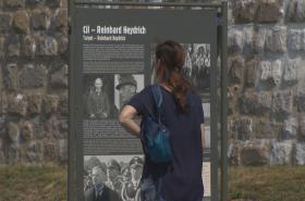 Výstava Anthropoid - pravdivý příběh v koncentračním táboře Mauthausen
