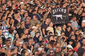 Protesty po ubodání německého občana v Chemnitzu