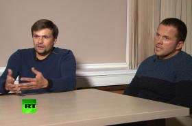 Alexandr Petrov a Ruslan Boširov