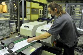 Tiskárna Moraviapress připravovala lístky také na přímou volbu prezidenta
