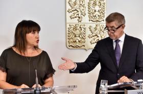 Premiér Andrej Babiš s ministryní financí Alenou Schillerovou