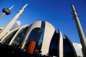 Nová mešita v Kolíně nad Rýnem