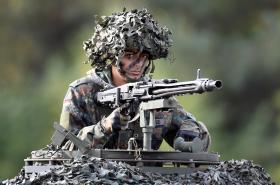 Mladý německý voják