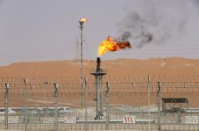 Zpracování ropy v Saúdské Arábii