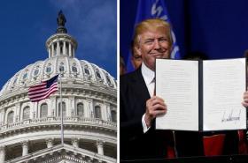 Americký Kongres vs. prezident Donald Trump
