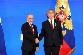 Vladimir Putin a Jaromír Nohavica