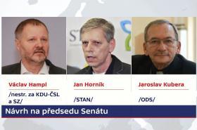 Kandidáti na předsedu Senátu