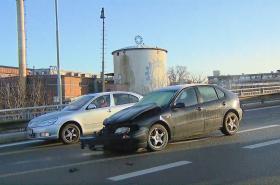 Ranní nehoda v Brně