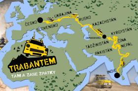 Mapa k filmu Trabantem tam a zase zpátky