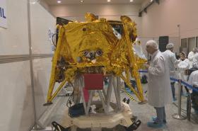 Izraelský modul Beresheet pro přistání na Měsíci