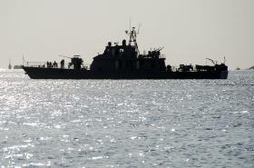 Íránské válečné lodě