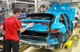 Porsche Plant Leipzig
