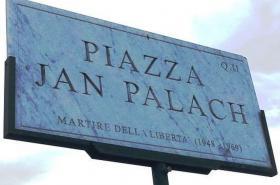 Náměstí Jana Palacha v Římě
