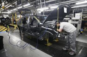 Továrna Nissan v anglickém Sunderlandu