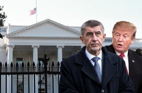 Andrej Babiš a Donald Trump
