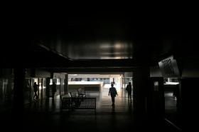Venezuelské obchodní centrum po výpadku elektřiny