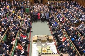 Jednání Dolní sněmovny o odchodu Spojeného království z EU