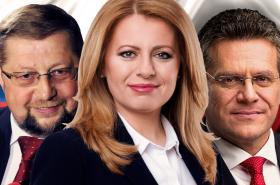 Kandidáti na slovenského prezidenta