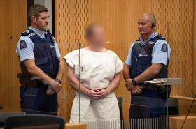 Brenton Tarrand před soudem