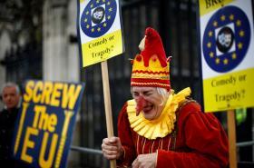 Odpůrci brexitu demonstrují v Londýně