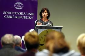 Prezidentka Soudcovské unie ČR Daniela Zemanová
