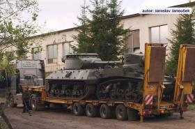 Historické tanky před nehodou