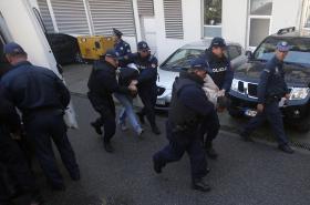 Zásah černohorské policie před parlamentními volbami v roce 2016