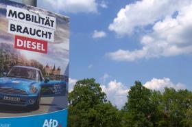 Předvolební kampaň AfD