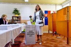 Zuzana Čaputová u erovoleb