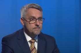 Ministr obrany Lubomír Metnar (za ANO) v Interview ČT24