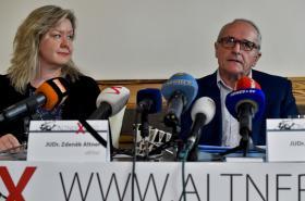 Veronika Altnerová a Václav Veselý