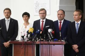 Předsedové opozičních stran