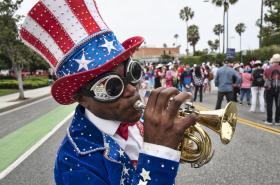 Spojené státy slavily Den nezávislosti