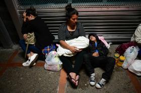 Migranti v Texasu