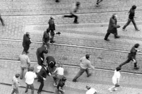 Protesty 21.srpen 1969 na Václavském náměstí