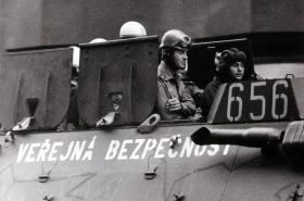 Obrněný transportér Veřejné bezpečnosti, srpen 1969